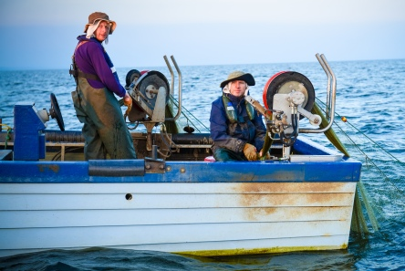 Eel Fishermen on Lough Neagh